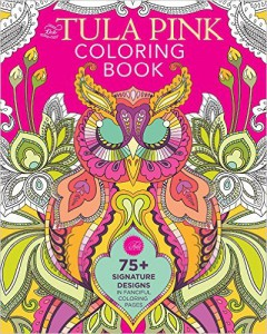 Tula Pink Colouring in Book
