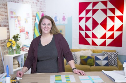 Creative Bug quilting classes with Heather Jones