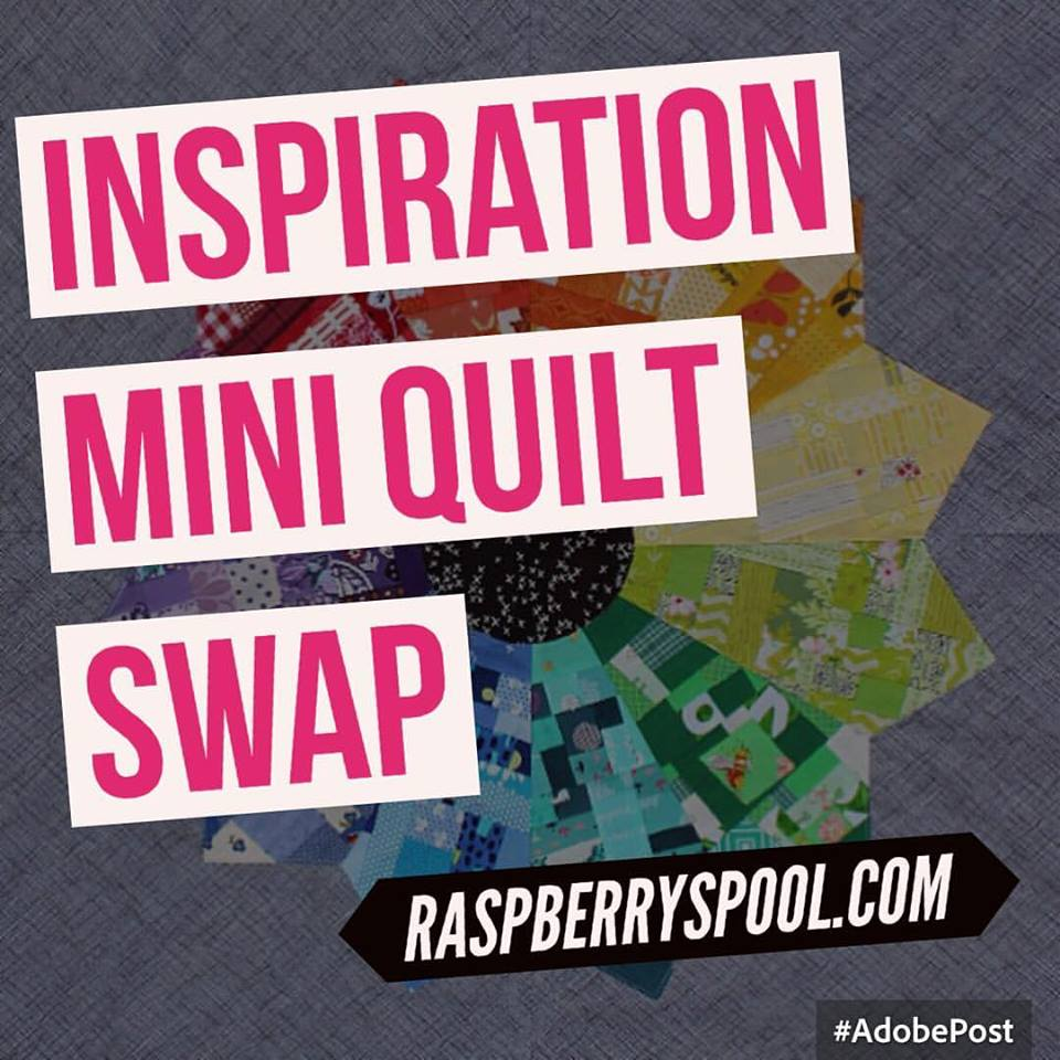 Who doesn't love a mini quilt swap!