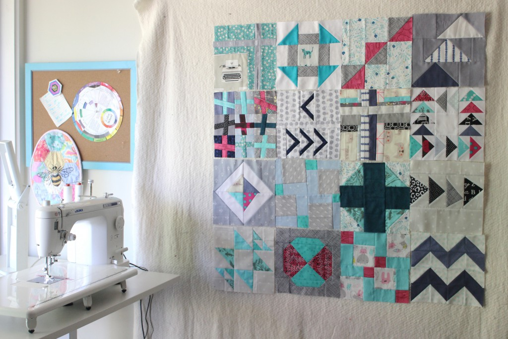 Project 48 quilt blocks