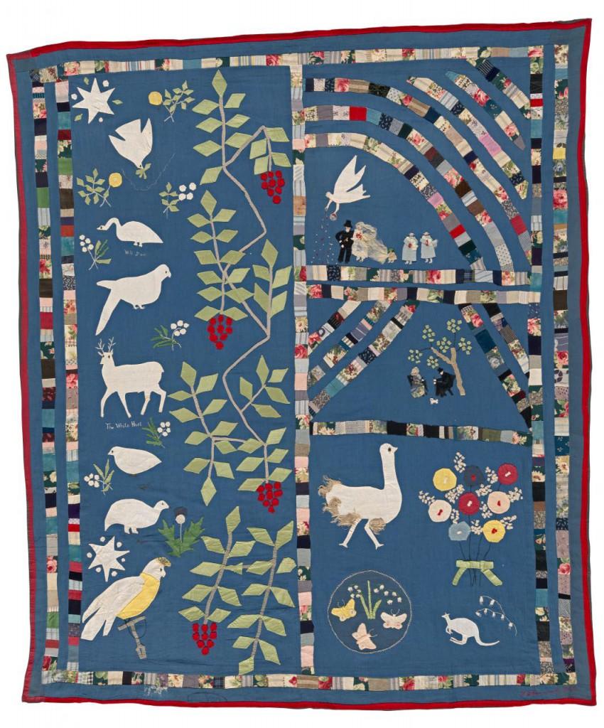 Mary Jane Hannaford - Wedding quilt 1922