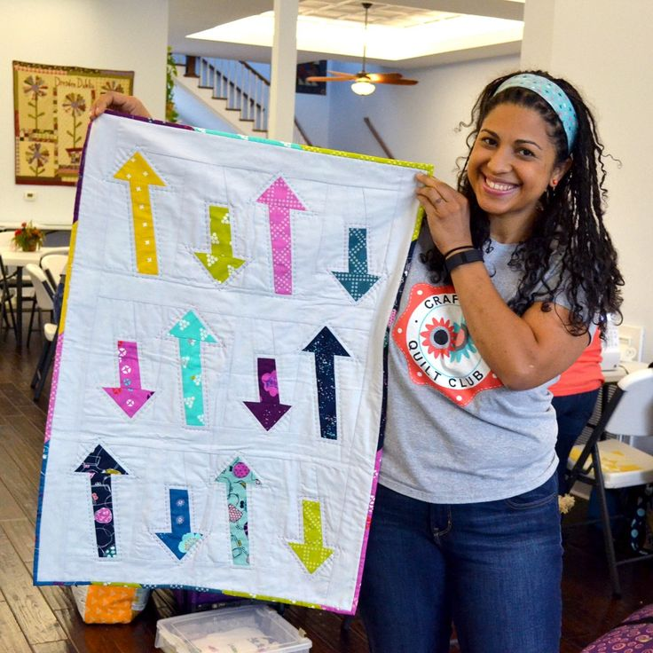 Arrows quilt by Vanessa Vargas Wilson