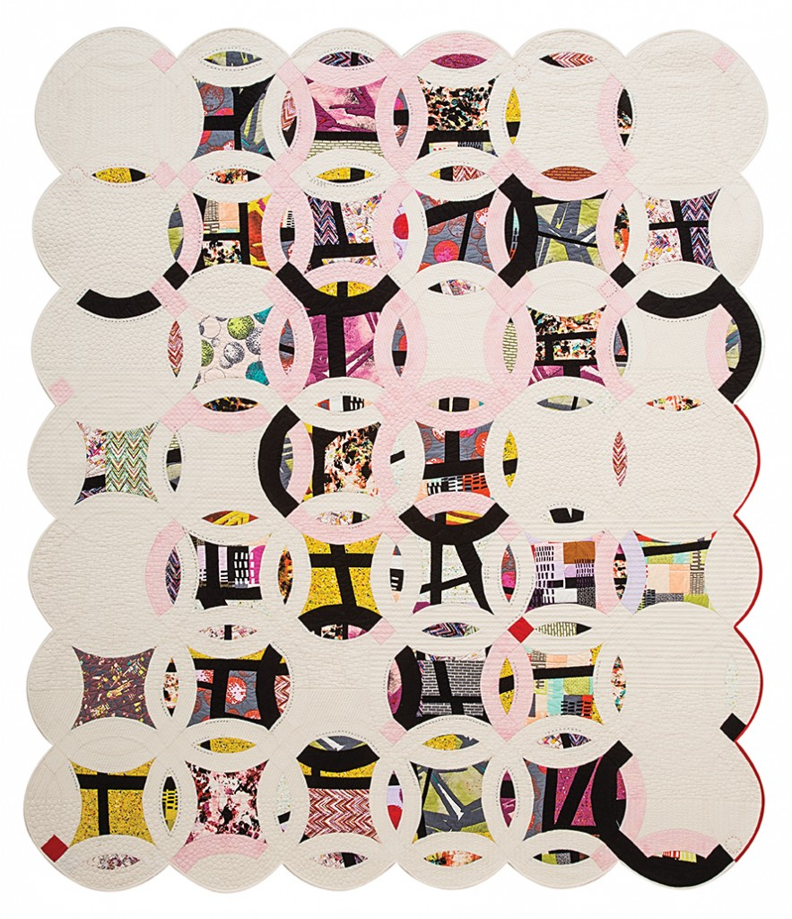 Double Edged Love quilt, 2012 by Victoria Findlay Wolfe